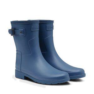 HUNTER Original Refined Short Waterproof Rain Boot